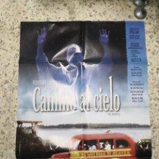 Cine: POSTER CARTEL DE CINE ORIGINAL CAMINO AL CIELO. Lote 242904990