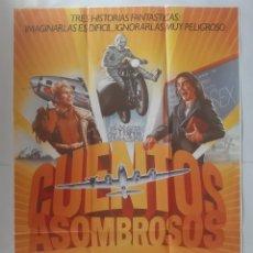 Cinema: ANTIGUO CARTEL CINE CUENTOS ASOMBROSOS STEVEN SPIELBERG 1985 R312 RV. Lote 242964750