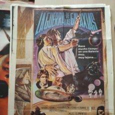 Cine: POSTER CARTEL LA GUERRA DE LAS GALAXIAS - STAR WARS - (1977). Lote 242976740