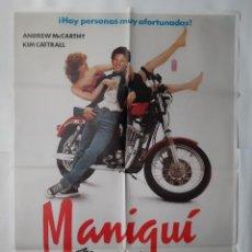 Cine: ANTIGUO CARTEL CINE MANIQUI 1987 R353 RV. Lote 243075685
