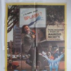 Cine: ANTIGUO CARTEL CINE SPLASH 1982 R354 RV. Lote 243075955