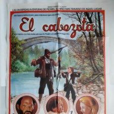 Cine: ANTIGUO CARTEL CINE EL CABEZOTA FIRMA UBIS R357 RV. Lote 243077105