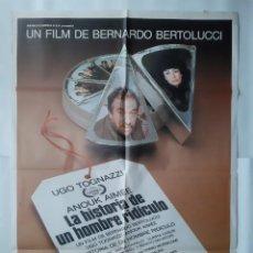 Cine: ANTIGUO CARTEL CINE LA HISTORIA DE UN HOMBRE RIDICULO 1982 R364 RV. Lote 243091520