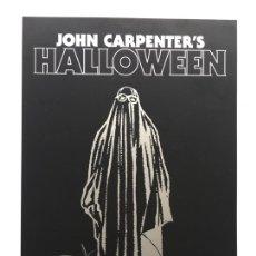 Cinema: CARTEL DE LA PELÍCULA HALLOWEEN FIRMADO POR JOHN CARPENTER. Lote 243141670