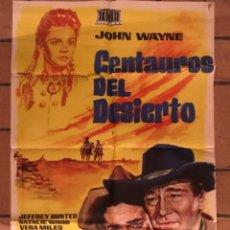 Cine: CARTEL CINE CENTAUROS DEL DESIERTO. Lote 243228415