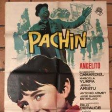 Cine: CARTEL CINE PACHIN. Lote 243233365