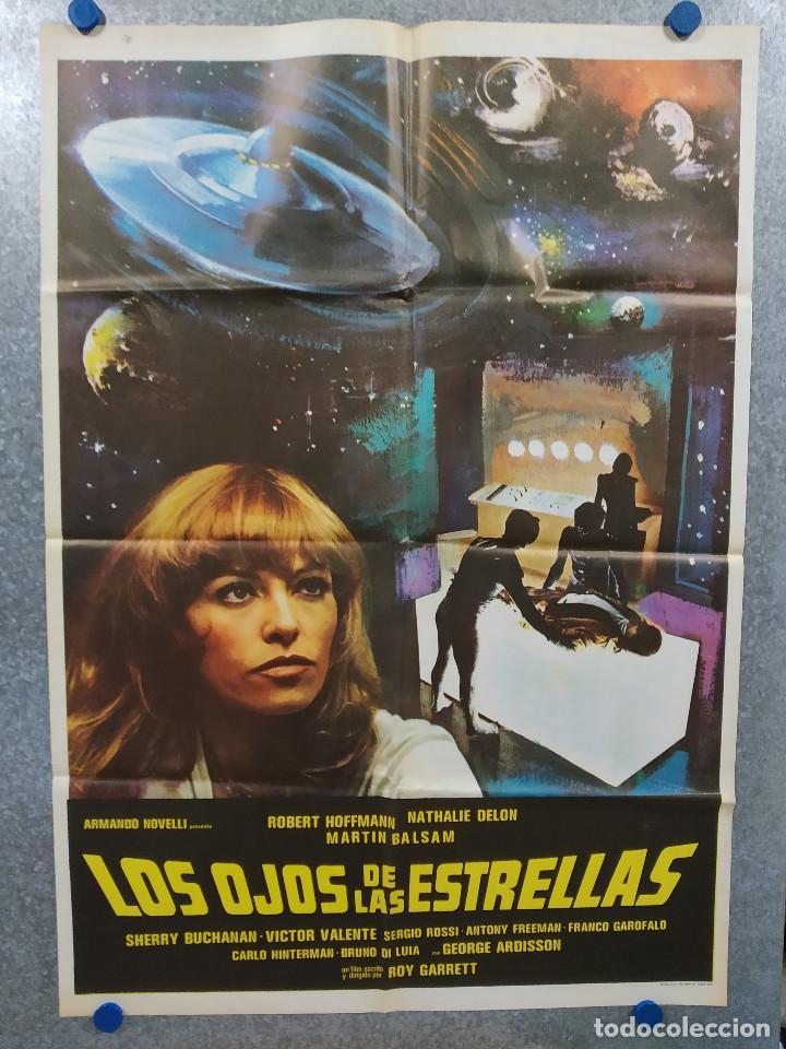 LOS OJOS DE LAS ESTRELLAS. ROBERT HOFFMANN, NATHALIE DELON. AÑO 1978. POSTER ORIGINAL (Cine - Posters y Carteles - Ciencia Ficción)