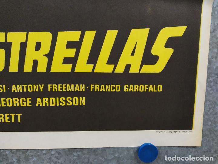 Cine: Los ojos de las estrellas. Robert Hoffmann, Nathalie Delon. AÑO 1978. POSTER ORIGINAL - Foto 4 - 243445600