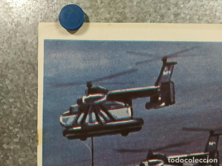 Cine: King Kong escapa. Rhodes Reason, Mie Hama, Linda Miller. AÑO 1977. POSTER ORIGINAL - Foto 2 - 243451160
