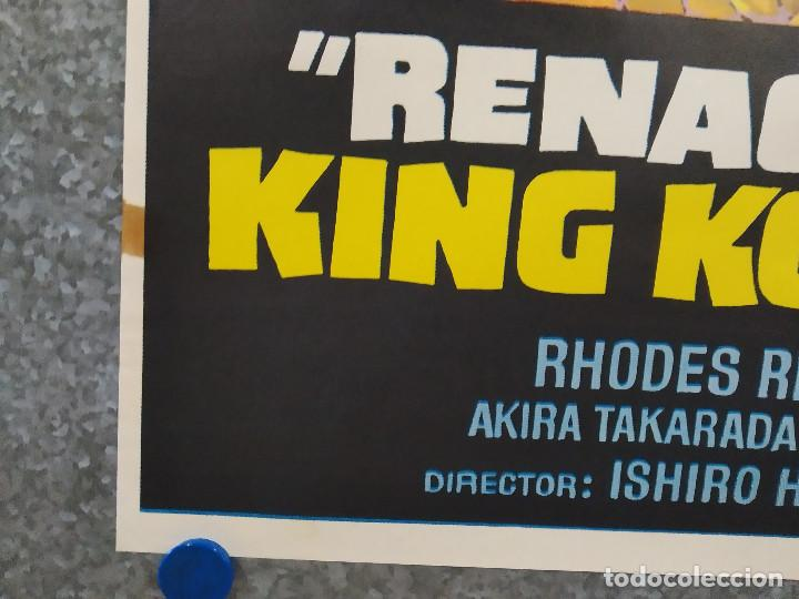 Cine: King Kong escapa. Rhodes Reason, Mie Hama, Linda Miller. AÑO 1977. POSTER ORIGINAL - Foto 8 - 243451160