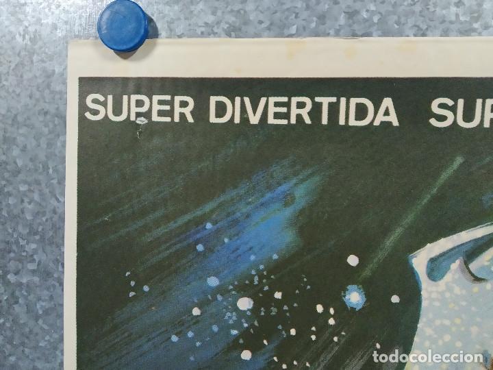 Cine: Supersonic Man. Antonio Cantafora, Cameron Mitchell, José Luis Ayestarán. AÑO 1979. POSTER ORIGINAL - Foto 2 - 243451805