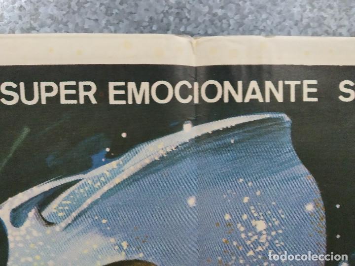 Cine: Supersonic Man. Antonio Cantafora, Cameron Mitchell, José Luis Ayestarán. AÑO 1979. POSTER ORIGINAL - Foto 3 - 243451805