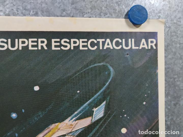 Cine: Supersonic Man. Antonio Cantafora, Cameron Mitchell, José Luis Ayestarán. AÑO 1979. POSTER ORIGINAL - Foto 4 - 243451805