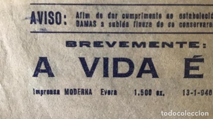 Cine: ST 76 CINE O DIVORCIO DE LADY X MERLE OBERON LAURENCE OLIVIER EVORA 1500 13/1/1940 PORTUGAL - Foto 2 - 243592860