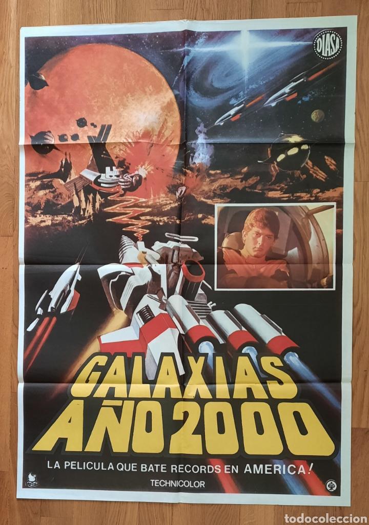 GALAXIAS AÑO 2000 / CARTEL 100X70 (Cine - Posters y Carteles - Ciencia Ficción)