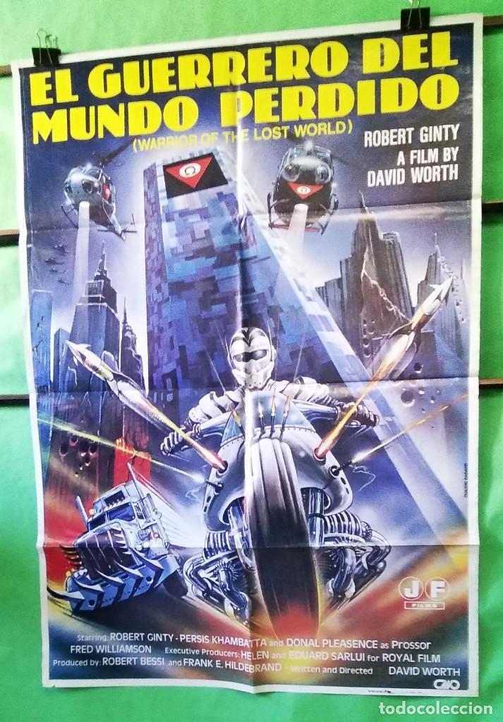 EL GUERRERO DEL MUNDO PERDIDO. ROBERT GINTY . CARTEL DE CINE 1983 - P3 (Cine - Posters y Carteles - Ciencia Ficción)