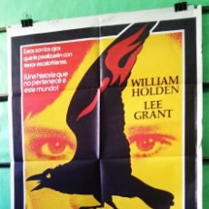 Cine: LA MALDICIÓN DE DAMIEN . WILLIAM HOLDEN.CARTEL DE CINE - P3. Lote 243639880
