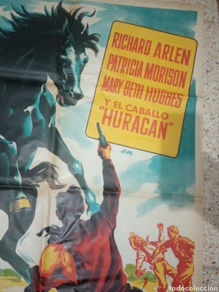Cine: Cartel cine original español tierra de heroes, la vuelta de huracan, richard arlen, patricia morison - Foto 3 - 243672930