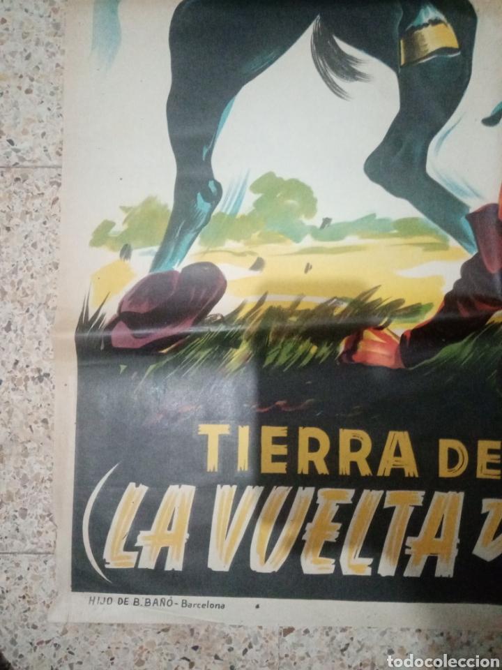 Cine: Cartel cine original español tierra de heroes, la vuelta de huracan, richard arlen, patricia morison - Foto 8 - 243672930