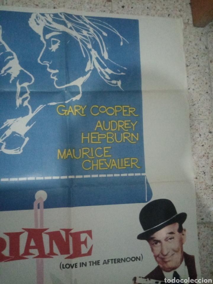 Cine: Cartel cine original español ariane, billy wilder, audrey hepburn, gary cooper, maurice chevalier - Foto 3 - 243681065