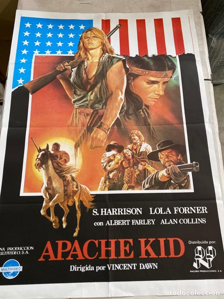 APACHE KID (Cine - Posters y Carteles - Westerns)