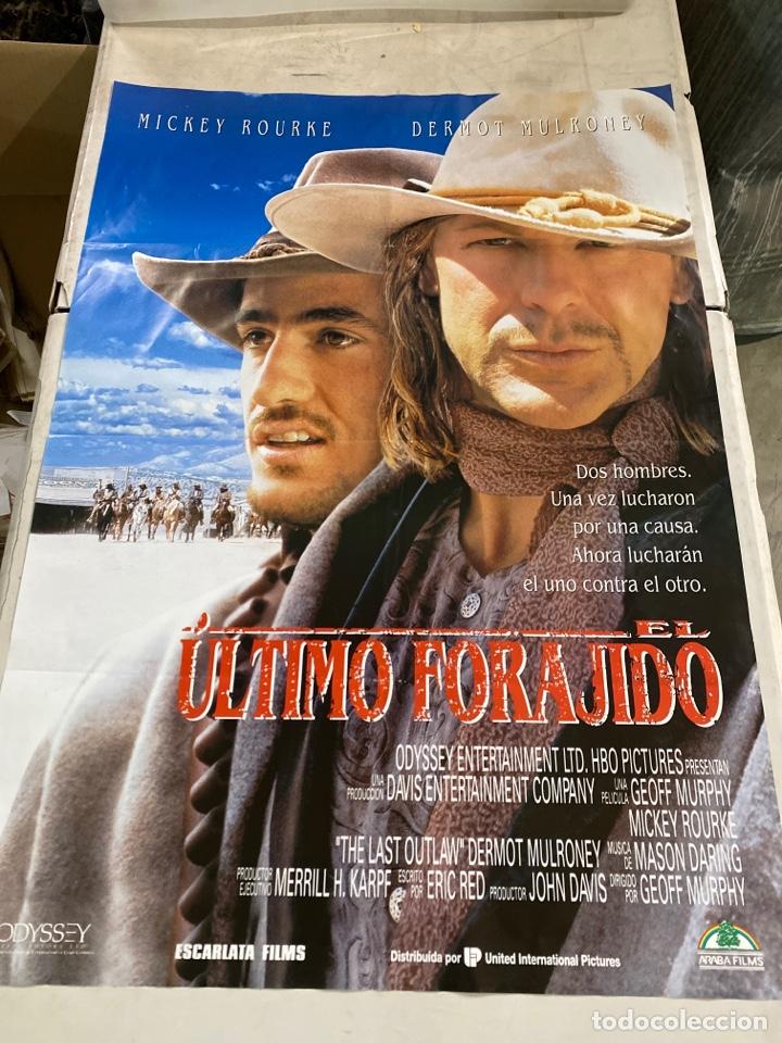 EL ÚLTIMO FORAJIDO (Cine - Posters y Carteles - Westerns)