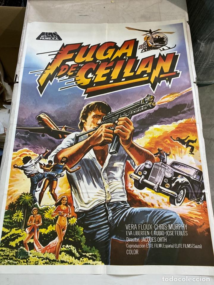 FUGA DE CEILAN (Cine - Posters y Carteles - Acción)