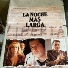 Cine: LA NOCHE MÁS LARGA. Lote 243787275