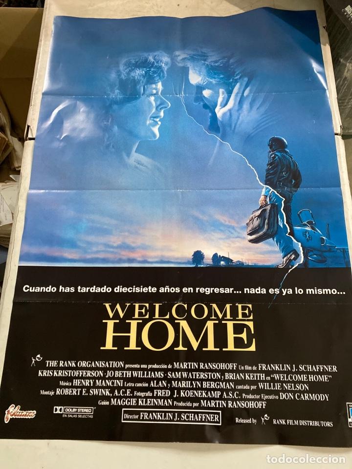 WELCOME HOME (Cine - Posters y Carteles - Aventura)