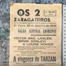 Cinema: ST 114 CINEMA A VINGANÇA DE TARZAN GLENN MORRIS ELEANOR HOLM A PRINCEZINHA SHIRLEY TEMPLE EVORA 1500. Lote 243826735