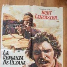 Cine: LA VENGANZA DE ULZANA / BURT LANCASTER / MAC. Lote 243838715