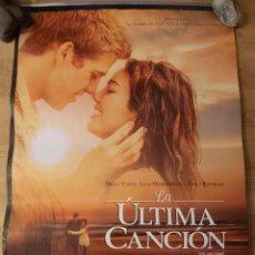 Cine: LA ULTIMA CANCION - APROX 70X100 CARTEL ORIGINAL CINE (L83). Lote 243922125