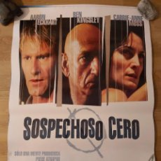 Cine: SOSPECHOSO CERO- APROX 70X100 CARTEL ORIGINAL CINE (L83). Lote 243922915
