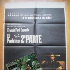 Cine: CARTEL CINE + 12 FOTOCROMOS EL PADRINO 2ª PARTE FRANCIS FORD COPPOLA 1975 CCF202. Lote 244024015