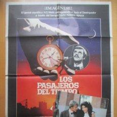Cine: CARTEL CINE + 12 FOTOCROMOS LOS PASAJEROS DEL TIEMPO MALCOLM MCDOWELL DAVID WARNER 1979 CCF206. Lote 244025950