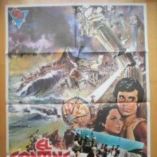 Cine: CARTEL CINE + 10 FOTOCROMOS EL CONTINENTE PERDIDO LA ATLANTIDA ANTHONY HALL 1974 CCF209. Lote 244069175