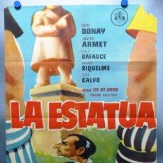 Cine: CARTEL LA ESTATUA, HEBE DONAY, JAVIER ARMET - AÑO 1959. Lote 244182475