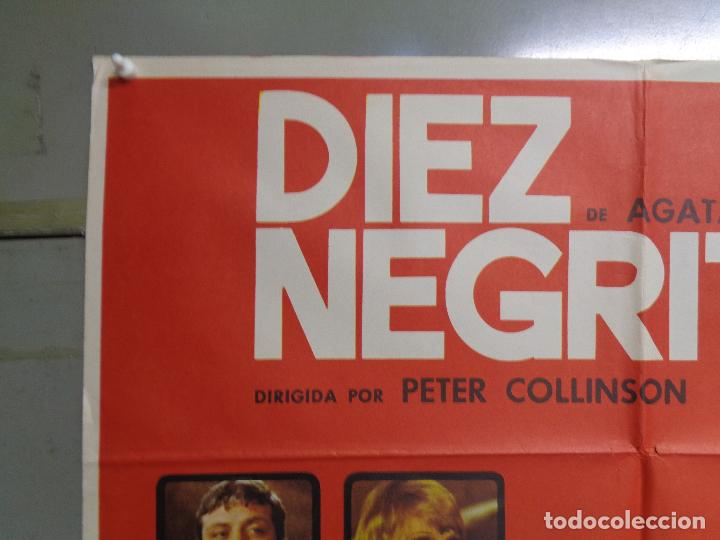 Cine: CDO 9072 DIEZ NEGRITOS AGATHA CHRISTIE ELKE SOMMER OLIVER REED POSTER ORIGINAL 70X100 ESTRENO - Foto 2 - 244187735