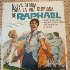Cine: RAPHAEL CARTEL DE LA PELÍCULA EL GOLFO 80 X 100 CTMS ECHO EN ARGENTINA.... Lote 244433465