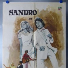 Cine: CARTEL MUCHACHO SANDRO - AÑO 1971. Lote 244487865