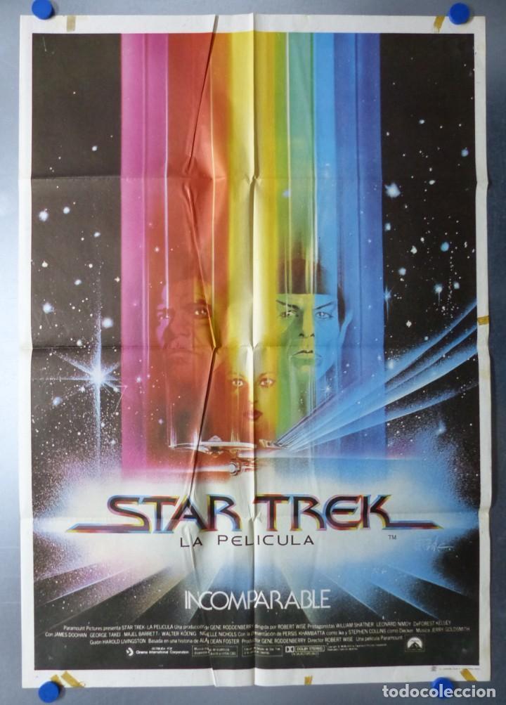 STAR TREK LA PELICULA, WILLIAM SHATNER, LEONARD NIMOY - AÑO 1980 (Cine - Posters y Carteles - Ciencia Ficción)