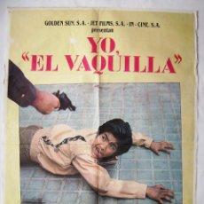 Cine: YO, EL VAQUILLA, CON RAÚL GARCIA LOSADA. PÓSTER 70 X 100 CMS.1985.. Lote 244548200