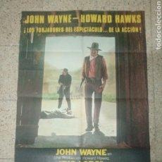 Cine: CARTEL ORIGINAL ESPAÑOL RÍO LOBO, JOHN WAYNE. Lote 244580890