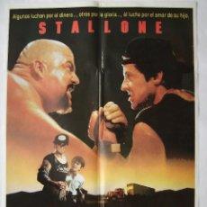 Cine: YO EL HALCÓN, CON SYLVESTER STALLONE. PÓSTER 70 X 100 CMS. 1987.. Lote 244617305