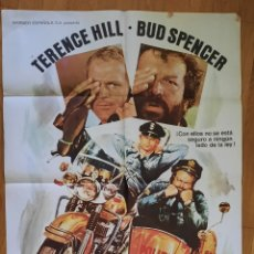 Cine: DOS SUPER-POLICIAS / TERENCE HILL - BUD SPENCER / 100X70. Lote 244651605
