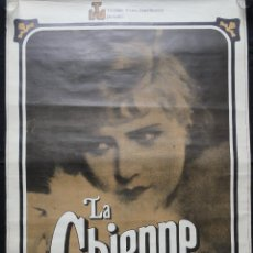 Cine: CARTEL LA CHIENNE - LA GOLFA - UN FILM DE JEAN RENOIR. Lote 244724285