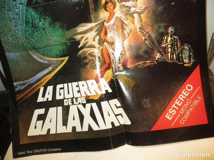 Cine: POSTER STAR WARS LA GUERRA DE LAS GALAXIAS EPISODIO IV GEORGE LUCAS 1984 ESTRENO VIDEO CBS FOX - Foto 2 - 244859025