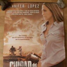 Cine: CIUDAD DEL SILENCIO - APROX 70X100 CARTEL ORIGINAL CINE (L83). Lote 244936545