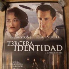Cine: TERCERA IDENTIDAD - APROX 70X100 CARTEL ORIGINAL CINE (L83). Lote 244936755