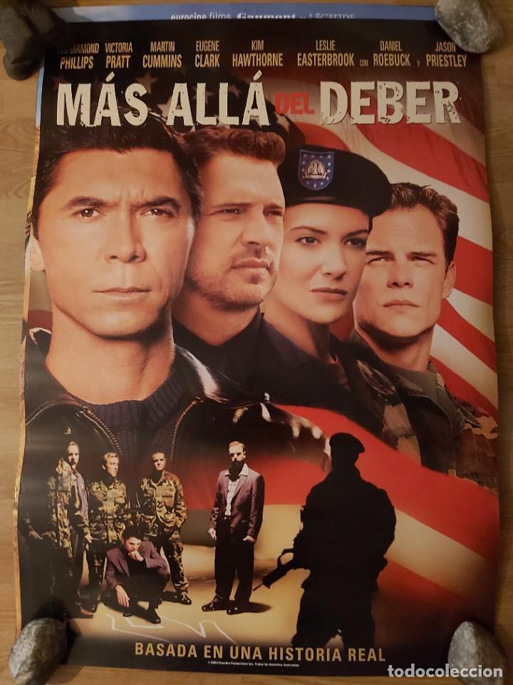 MÁS ALLÁ DEL DEBER - APROX 70X100 CARTEL ORIGINAL CINE (L83) (Cine - Posters y Carteles - Suspense)